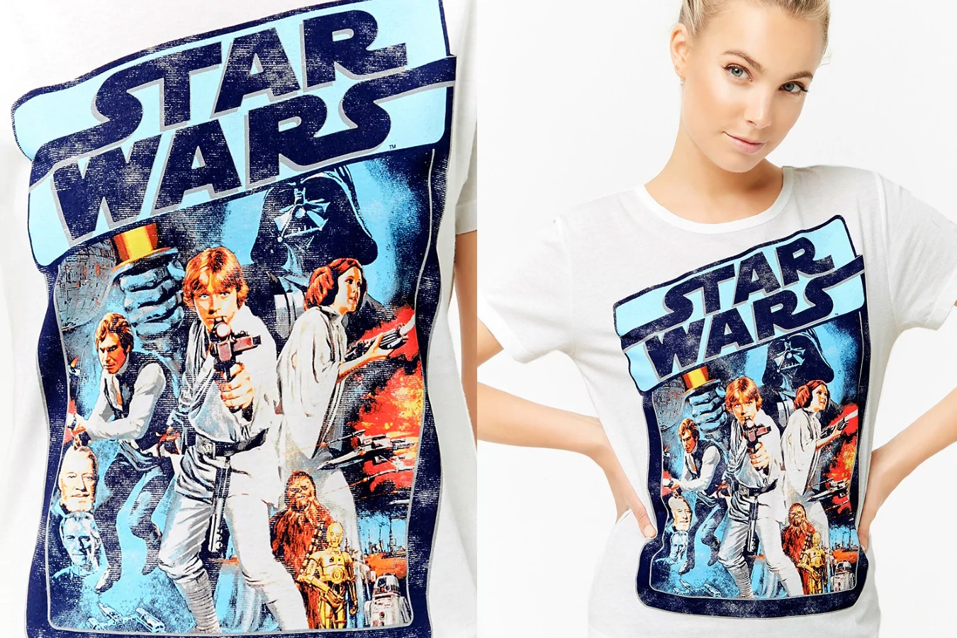 Women's Star Wars Pyjama Tee at Forever 21