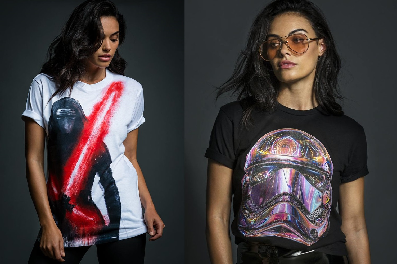 Radio Velvet x Star Wars The Last Jedi T-Shirts