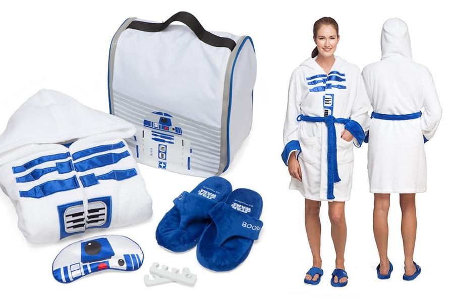 Exclusive Women's R2-D2 Spa Set at ThinkGeek