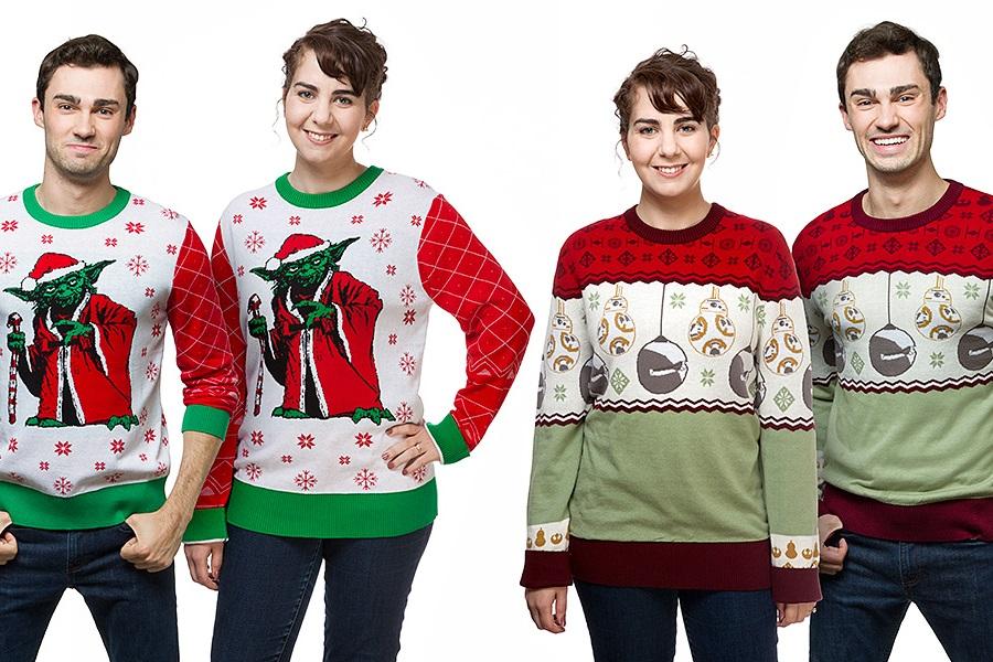 Star Wars Christmas Sweaters at ThinkGeek
