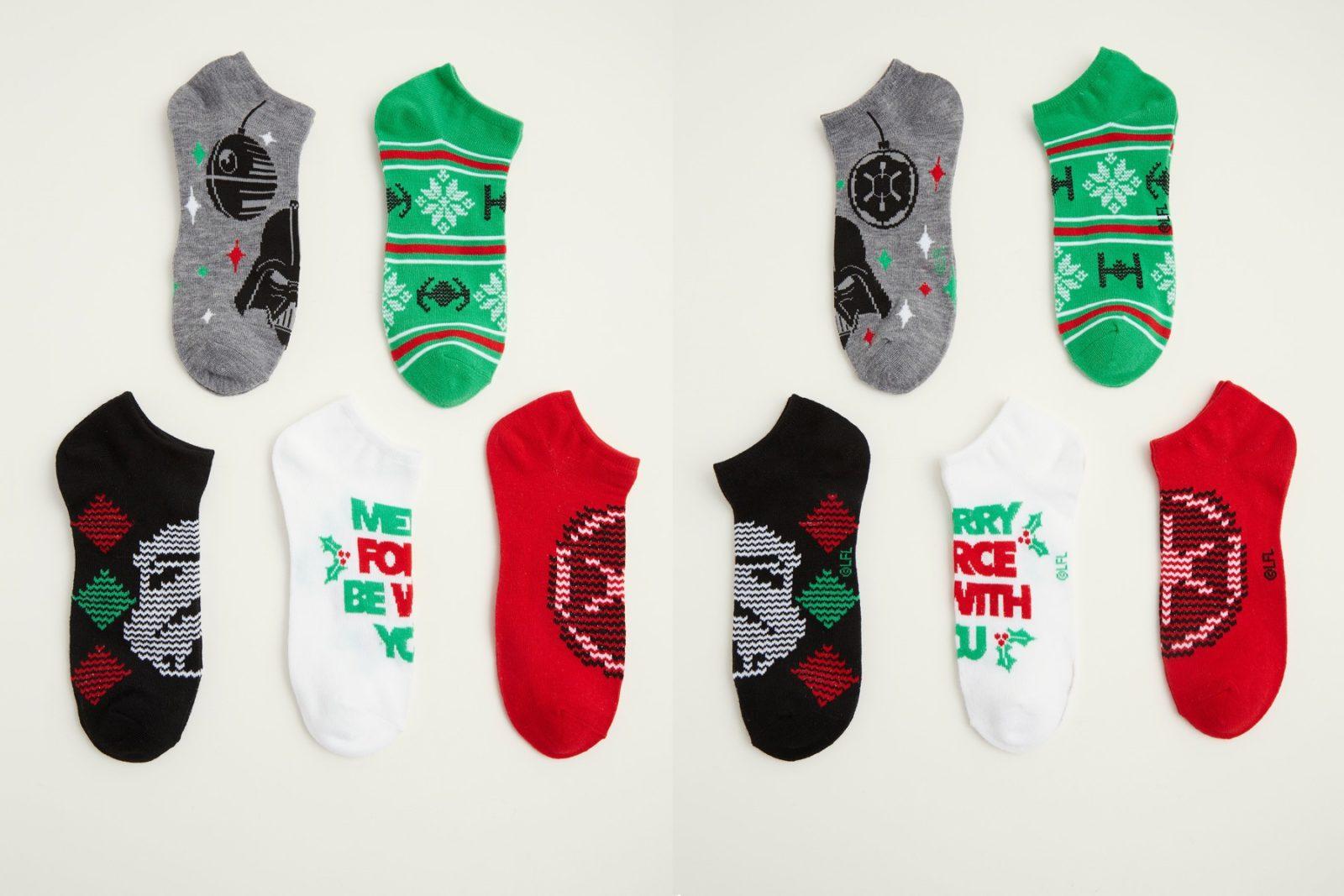 Women's Star Wars Christmas Ankle Sock Pack