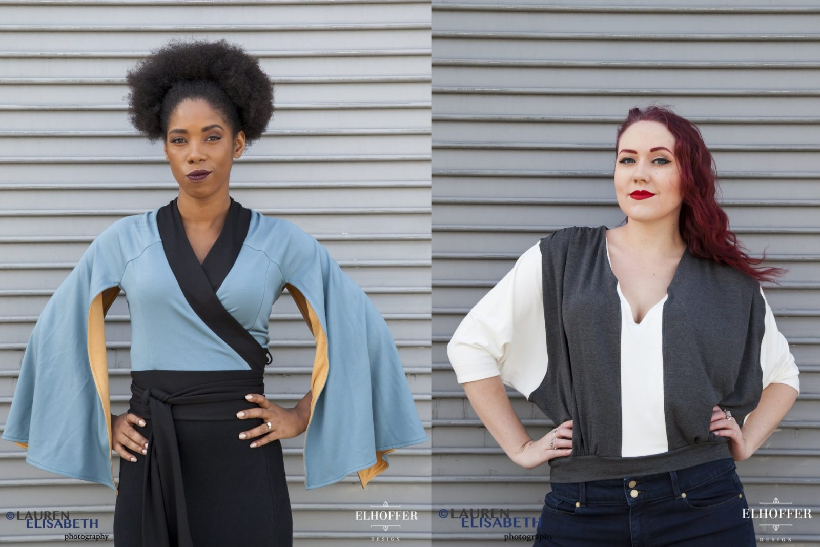 Han Solo and Lando Tops from Elhoffer Design