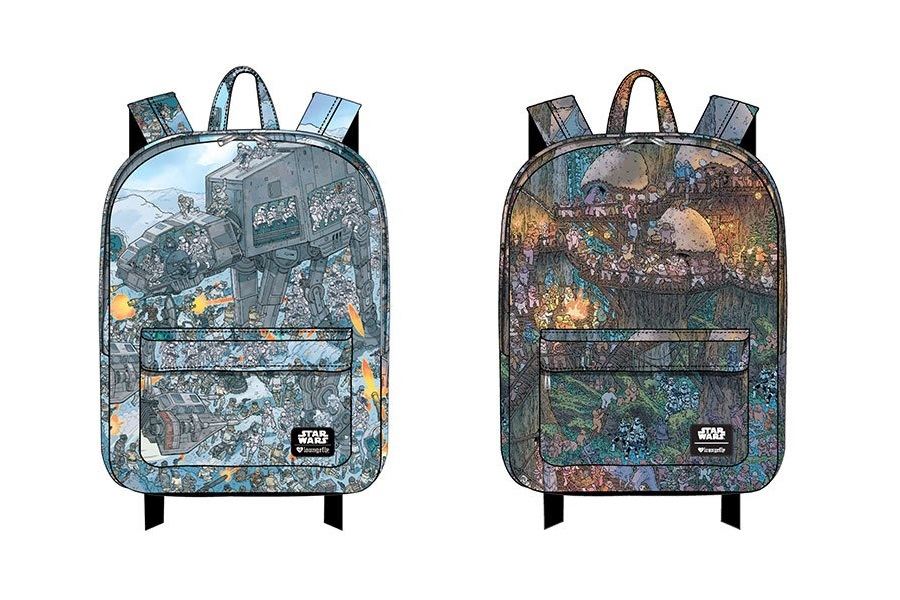 New Loungefly x Star Wars Printed Backpacks