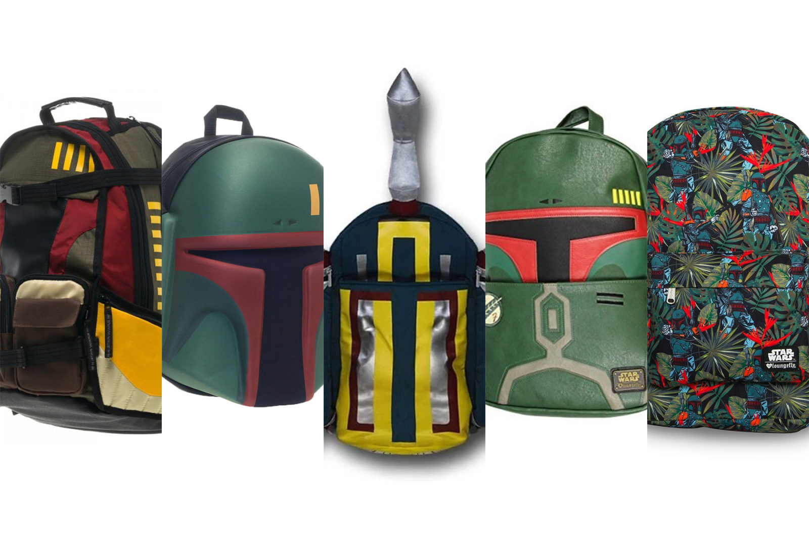 Leia's List – Boba Fett Themed Backpacks