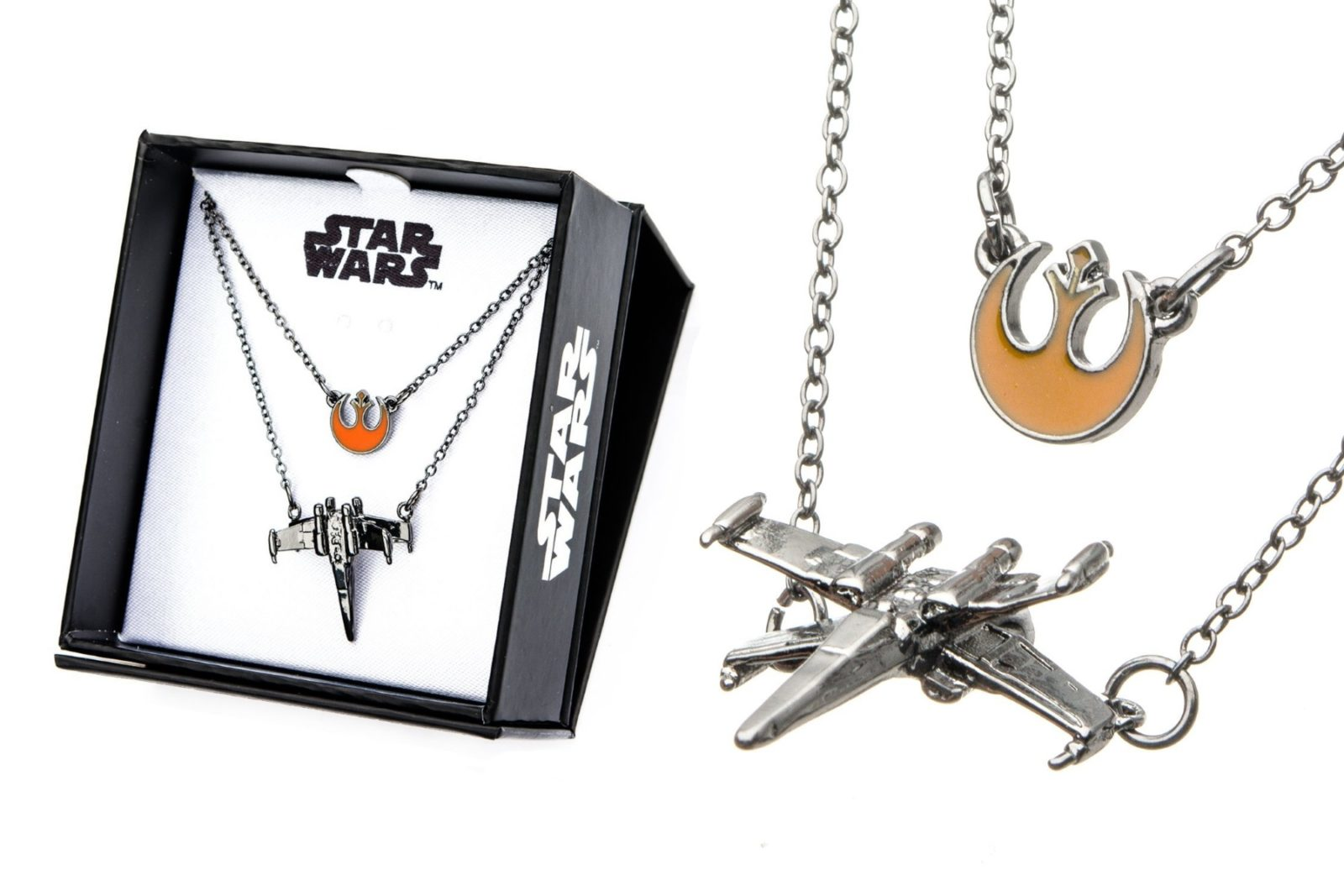 Star Wars Rebel X-Wing Tiered Necklace