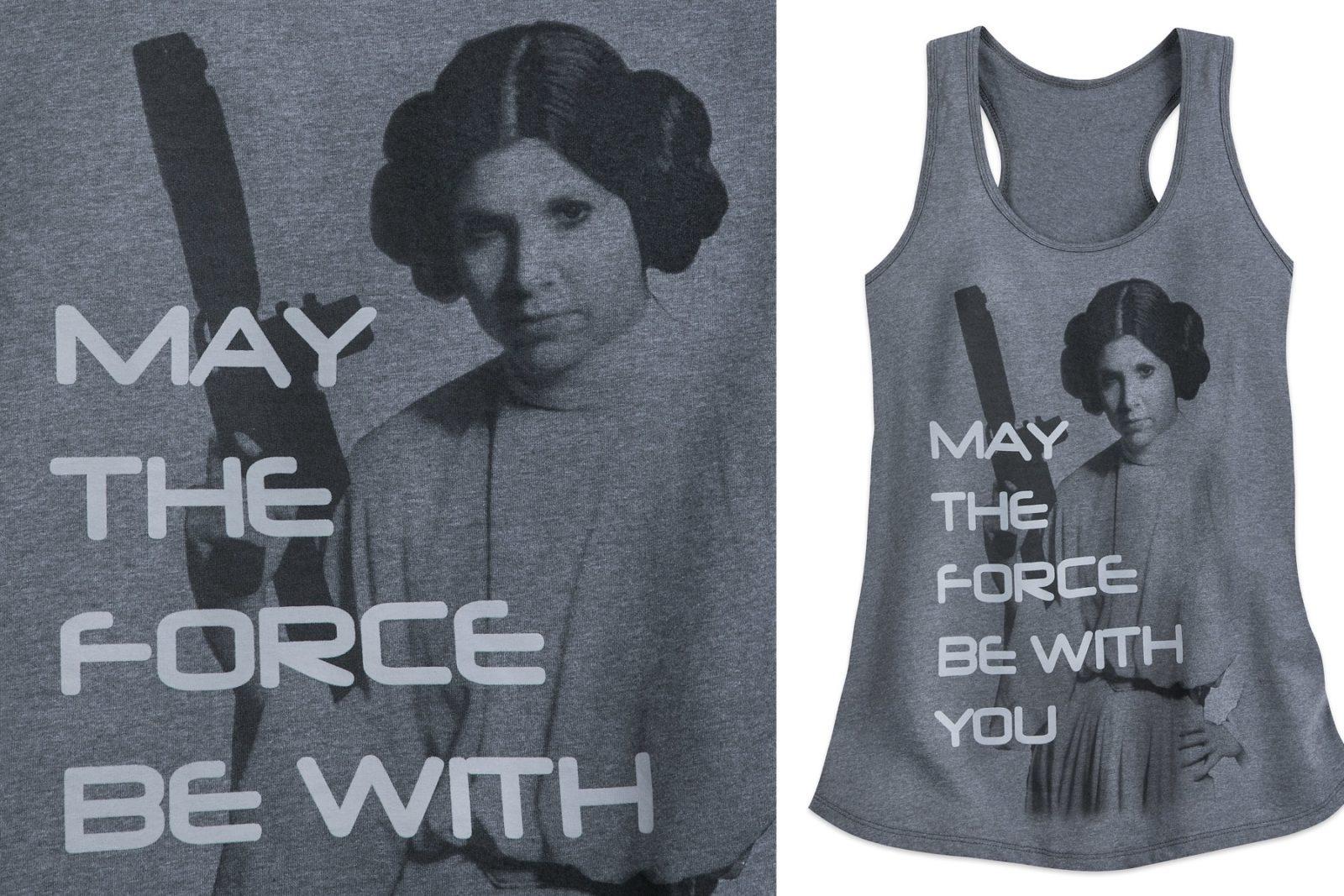Women's Princess Leia Tank Top at Shop Disney