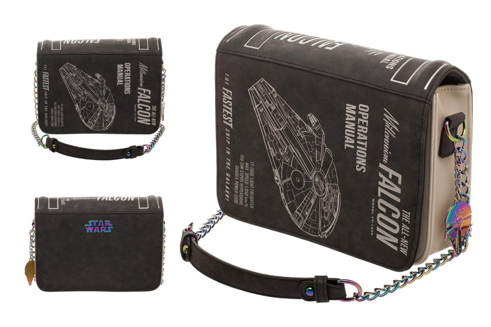 Solo Millennium Falcon Handbag on Amazon