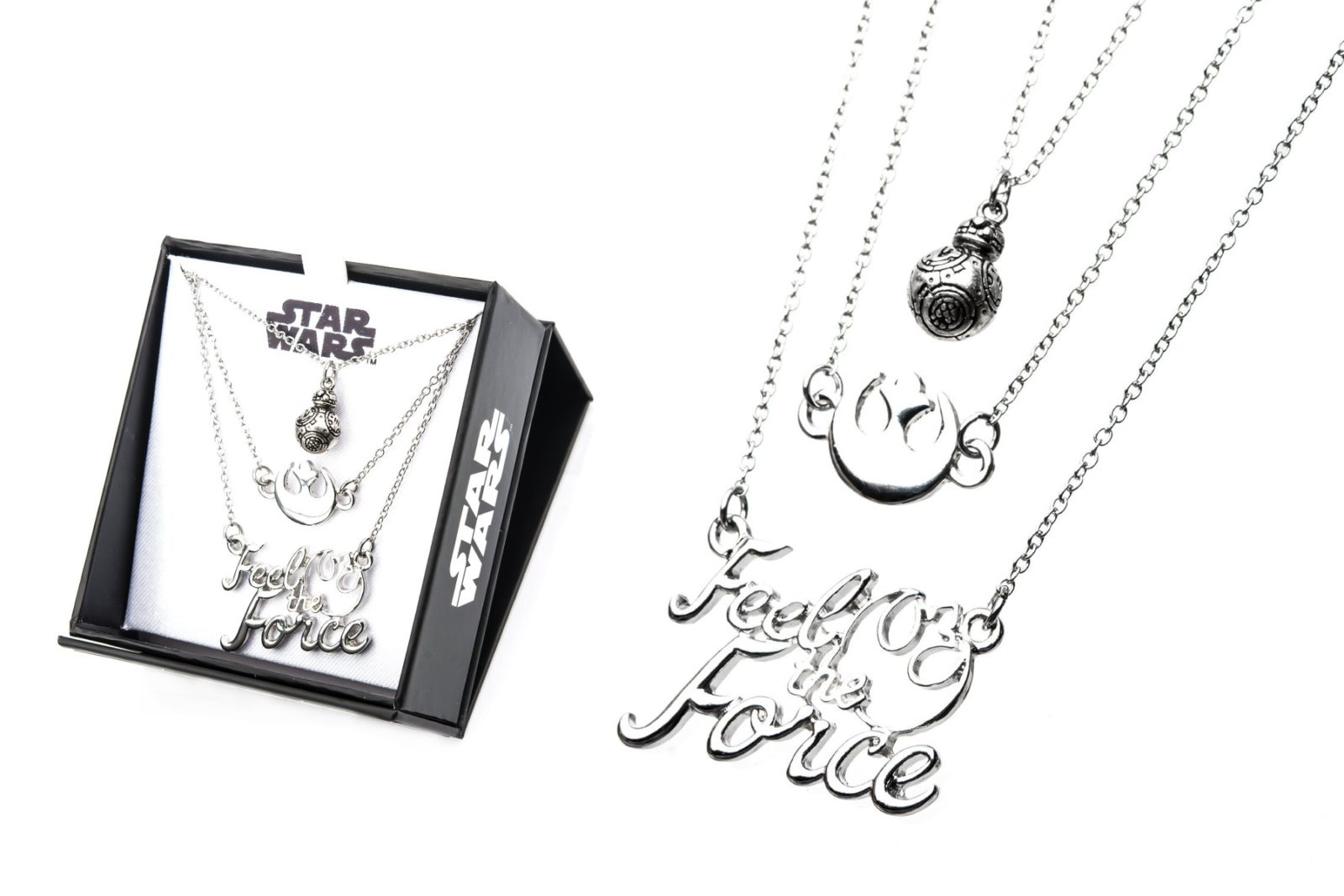 Resistance Feel The Force Tiered Necklace