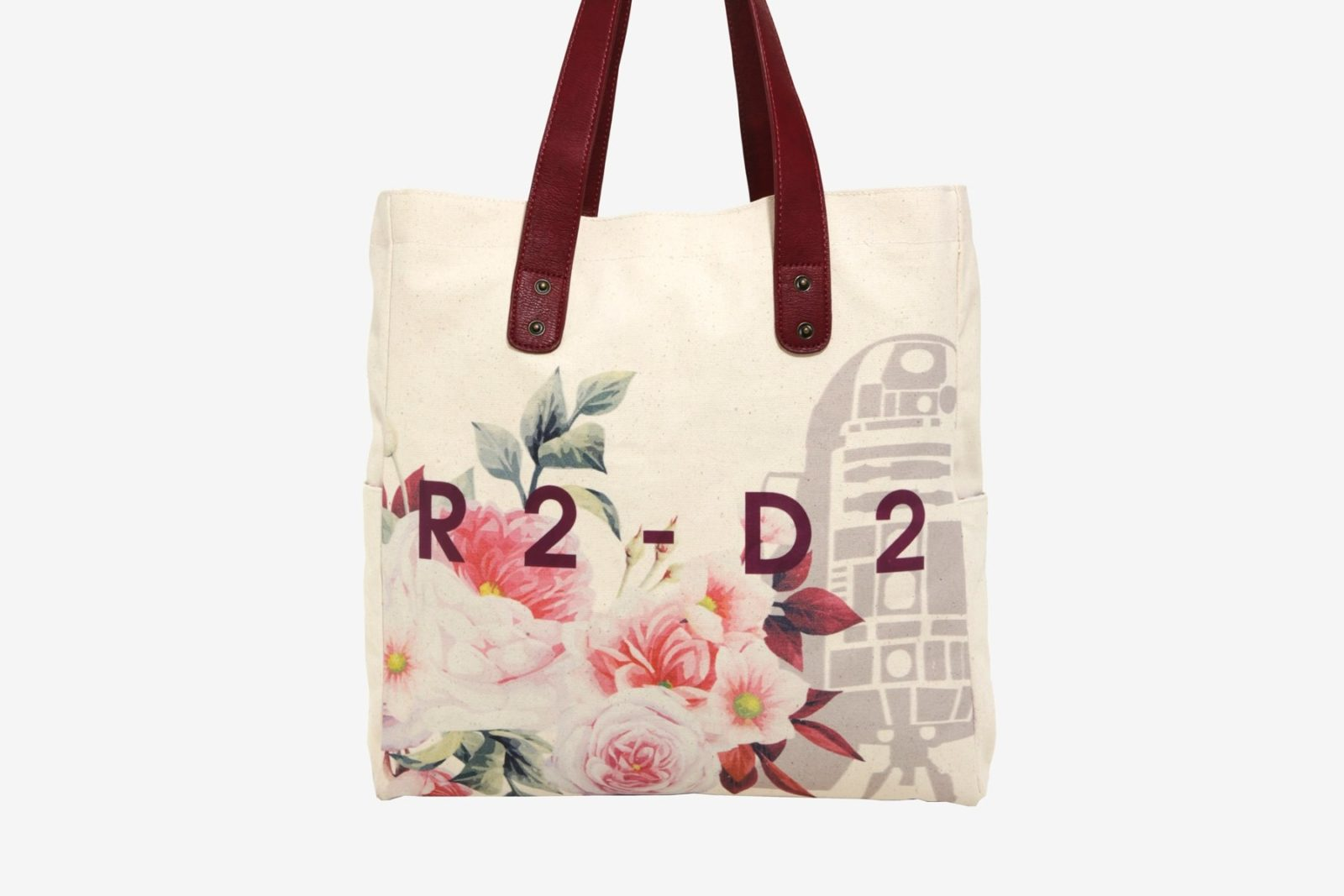 Loungefly R2-D2 Floral Tote Bag at Box Lunch