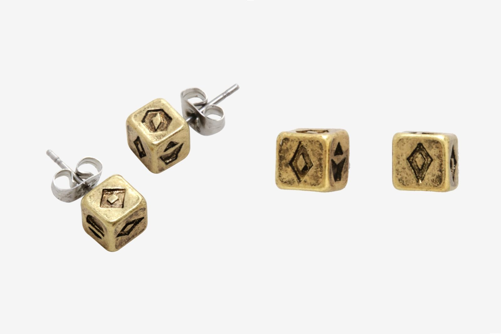Box Lunch Exclusive Solo Dice Stud Earrings