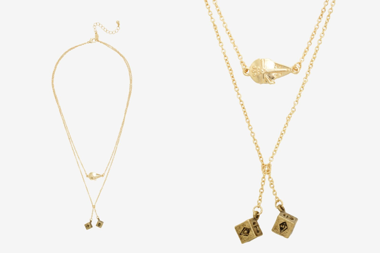 Solo Millennium Falcon Dice Layered Necklace