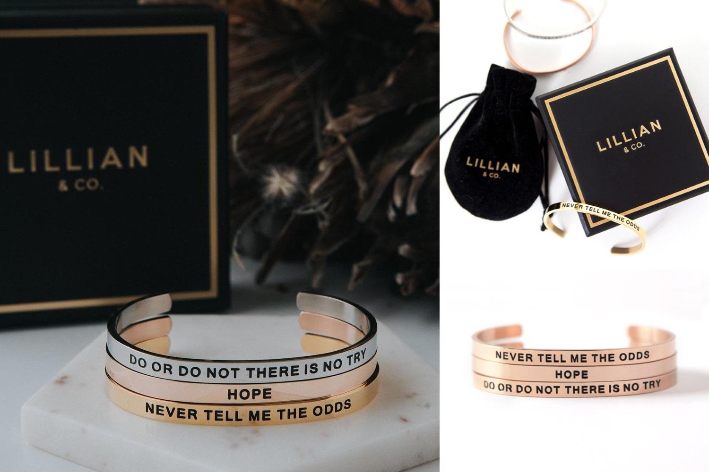Star Wars Inspired Bracelets by Lillian & Co