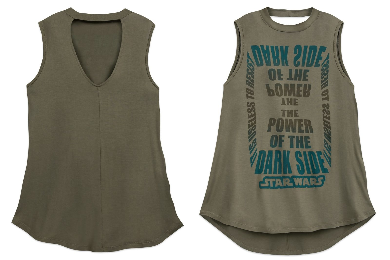 Women's The Power Of The Dark Side Tank Top