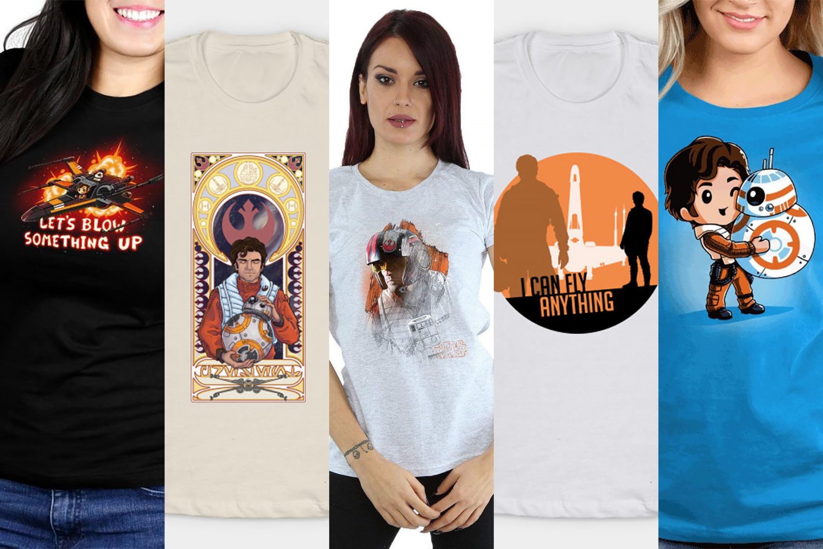 Leia's List – Women's Poe Dameron T-Shirts