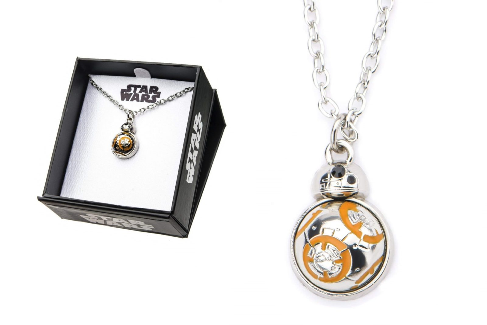 Cute Star Wars BB-8 Necklace on Amazon