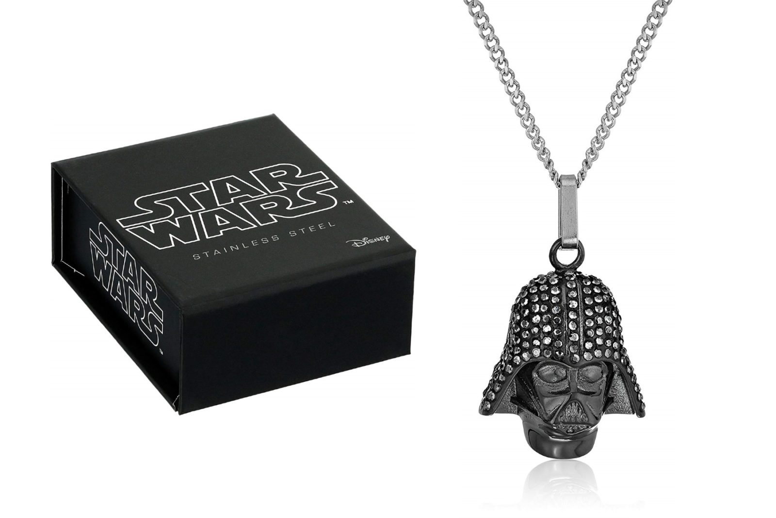 Star Wars Darth Vader Rhinestone Necklace