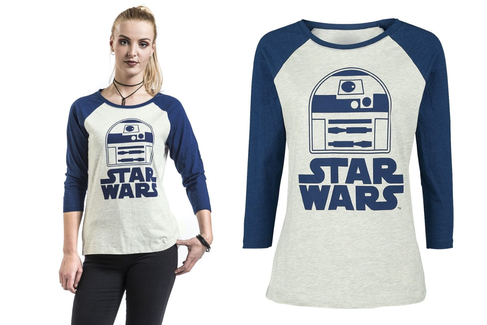 Women's Star Wars R2-D2 Top at EMP Online