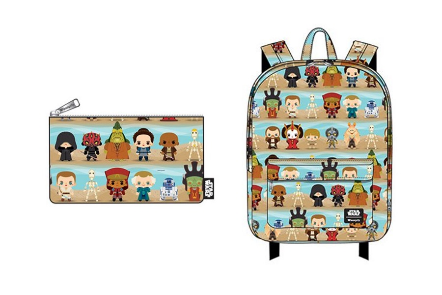 New Loungefly Episode 1 Chibi Backpack