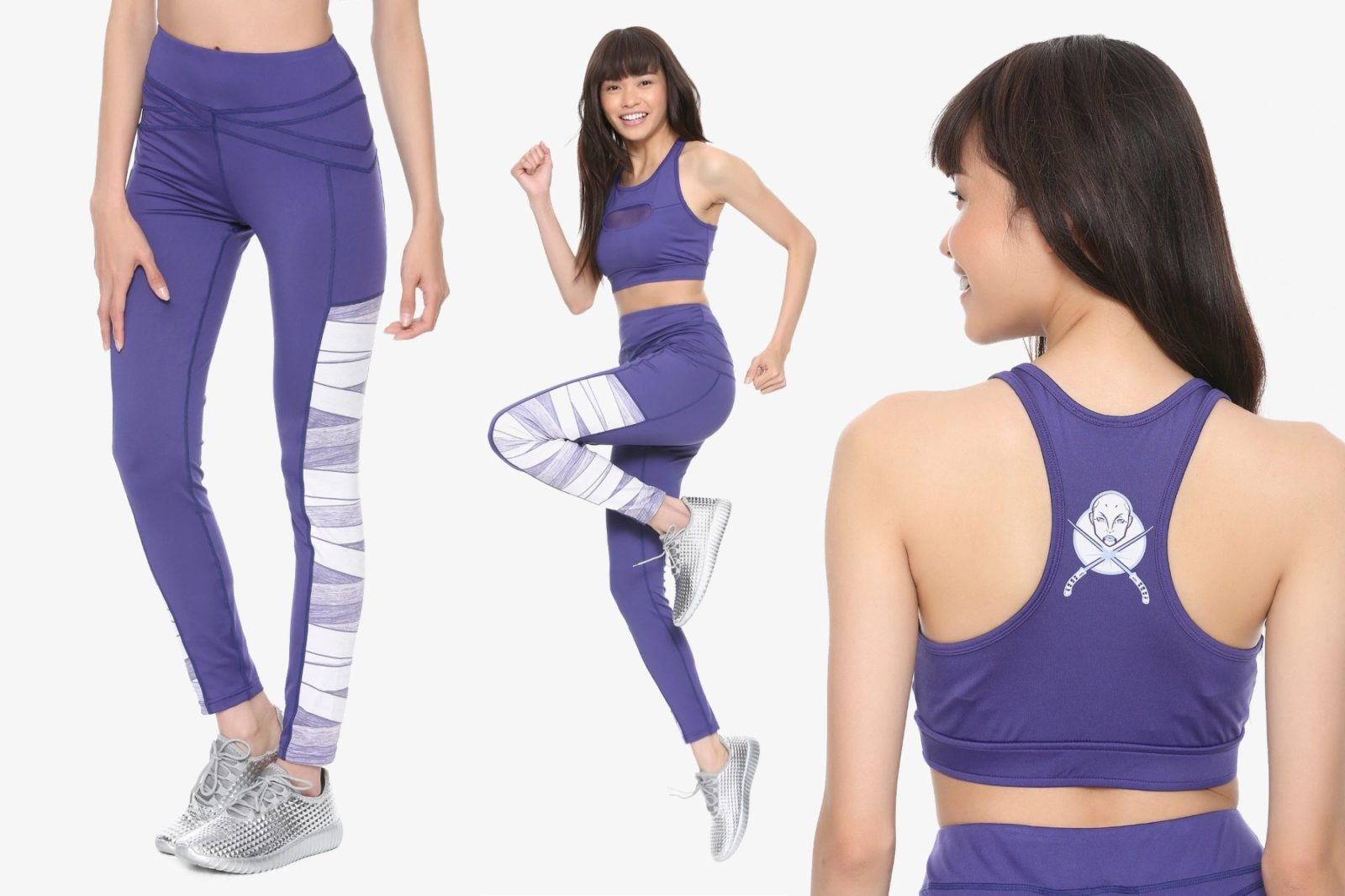 Her Universe Asajj Ventress Activewear Collection