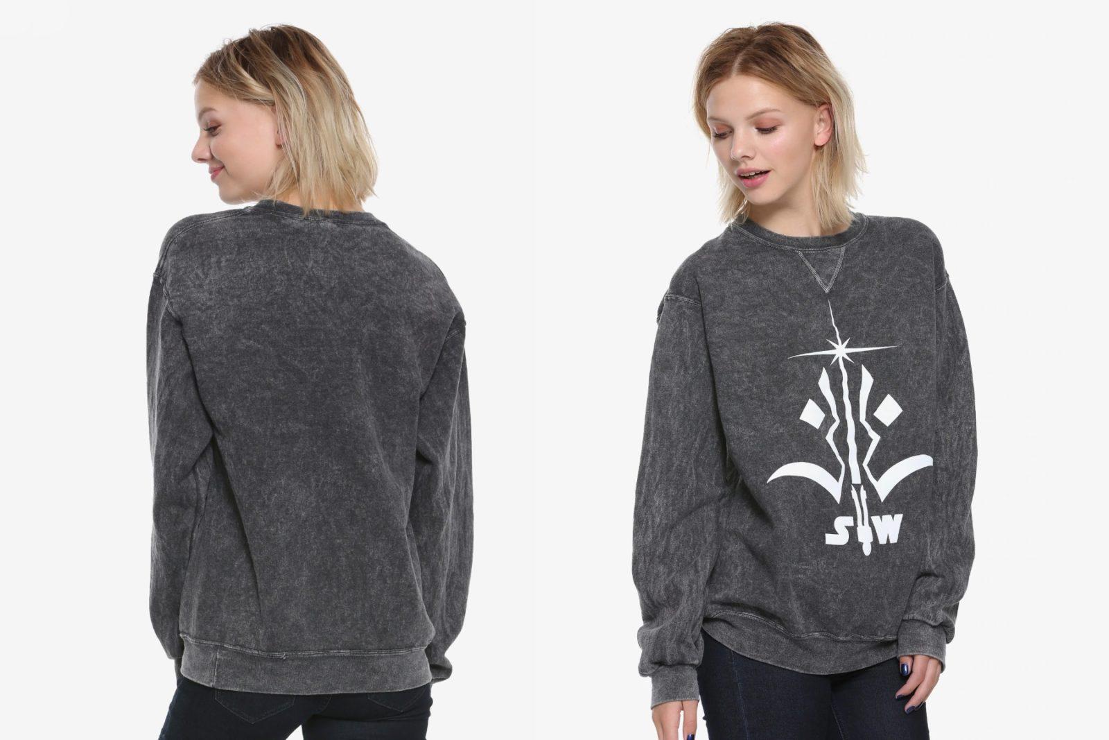 Her Universe x Star Wars The Clone Wars Logo Sweatshirt