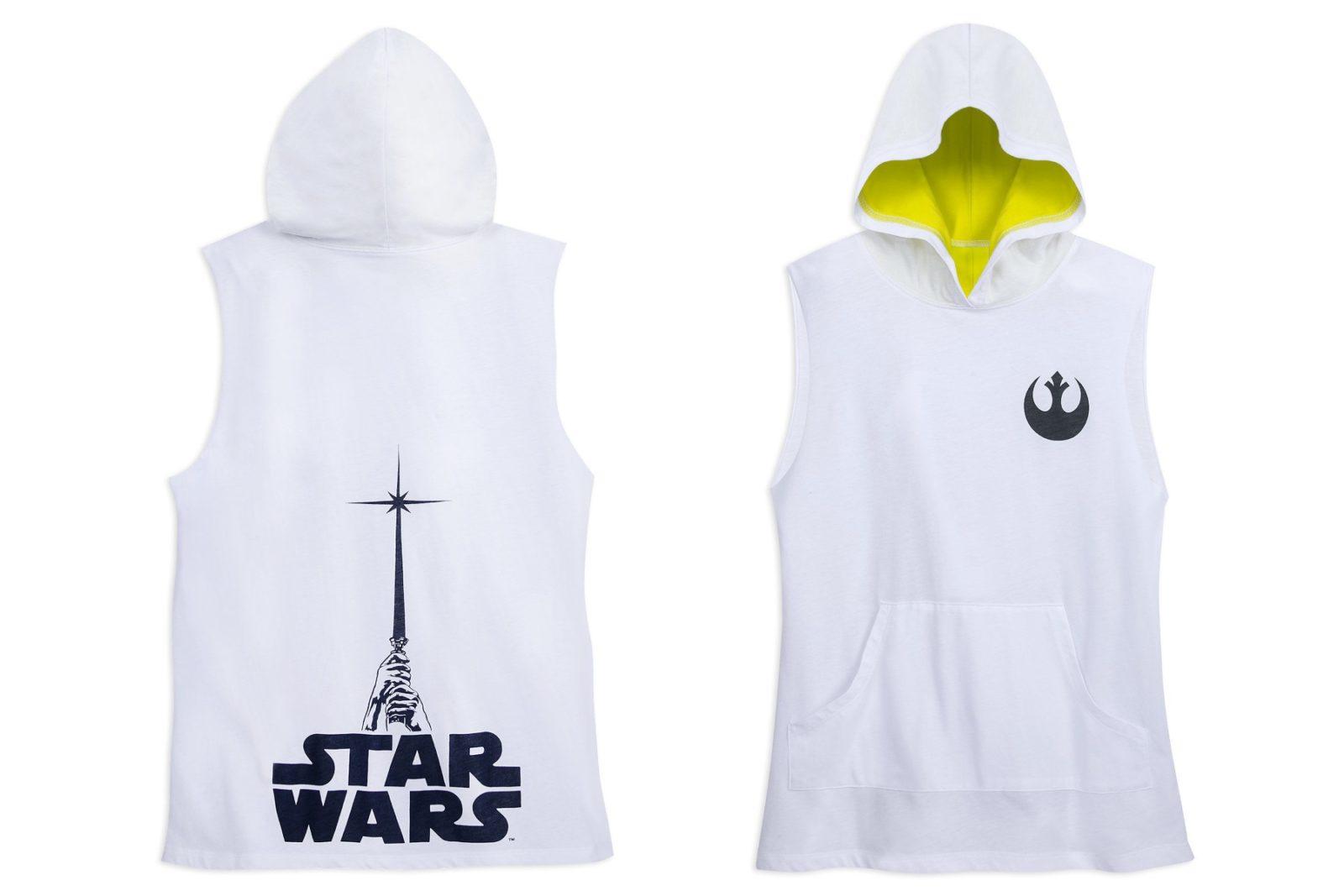 New Women's Star Wars Hooded Tank Top