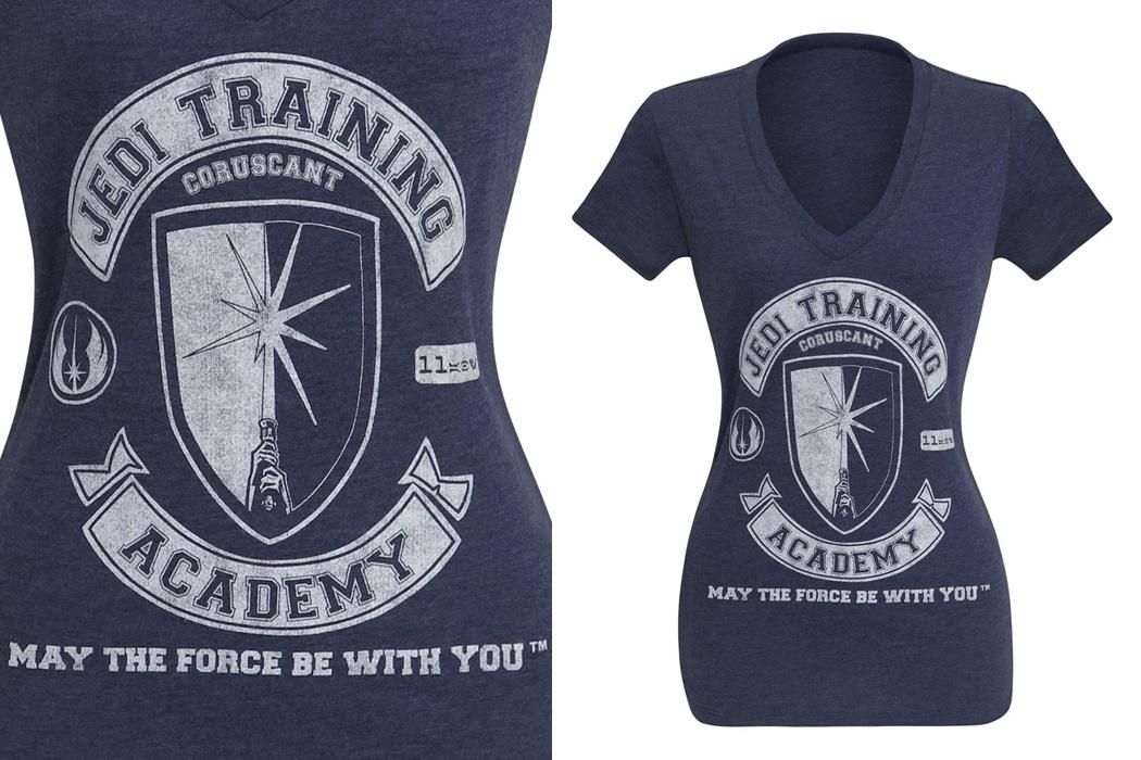 Women's Jedi Training Academy V-Neck T-Shirt
