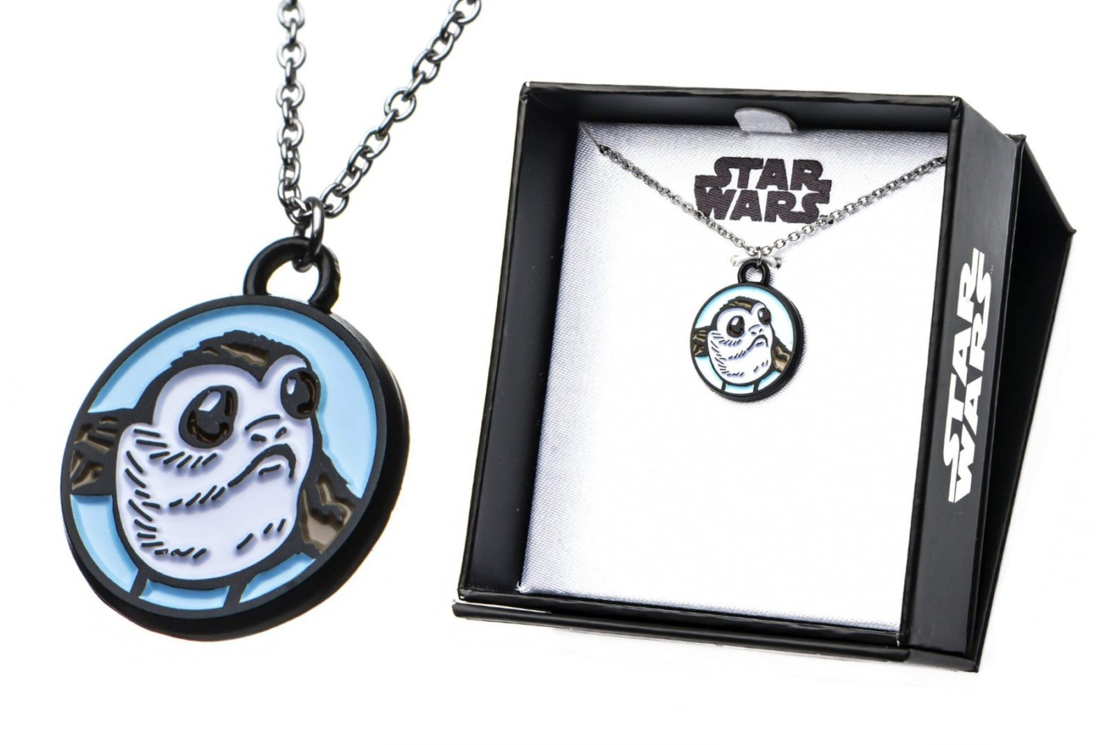 Body Vibe x Star Wars Porg Enamel Necklace