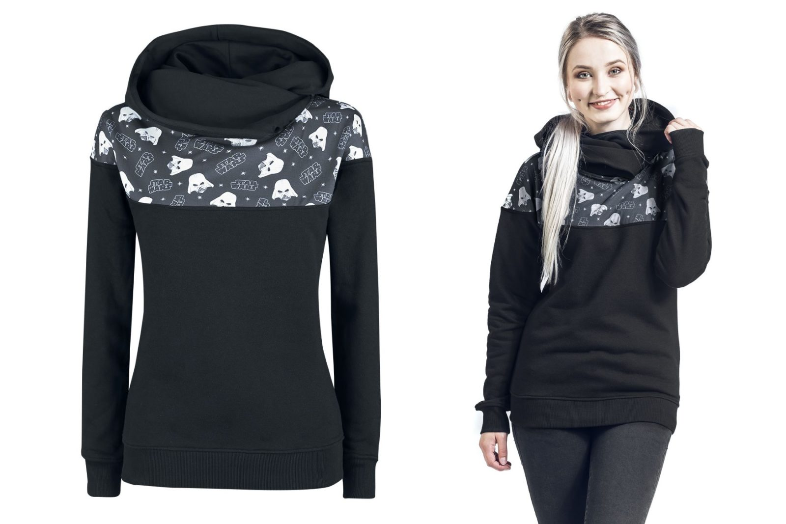 Women's Star Wars Shoulder Print Hoodie