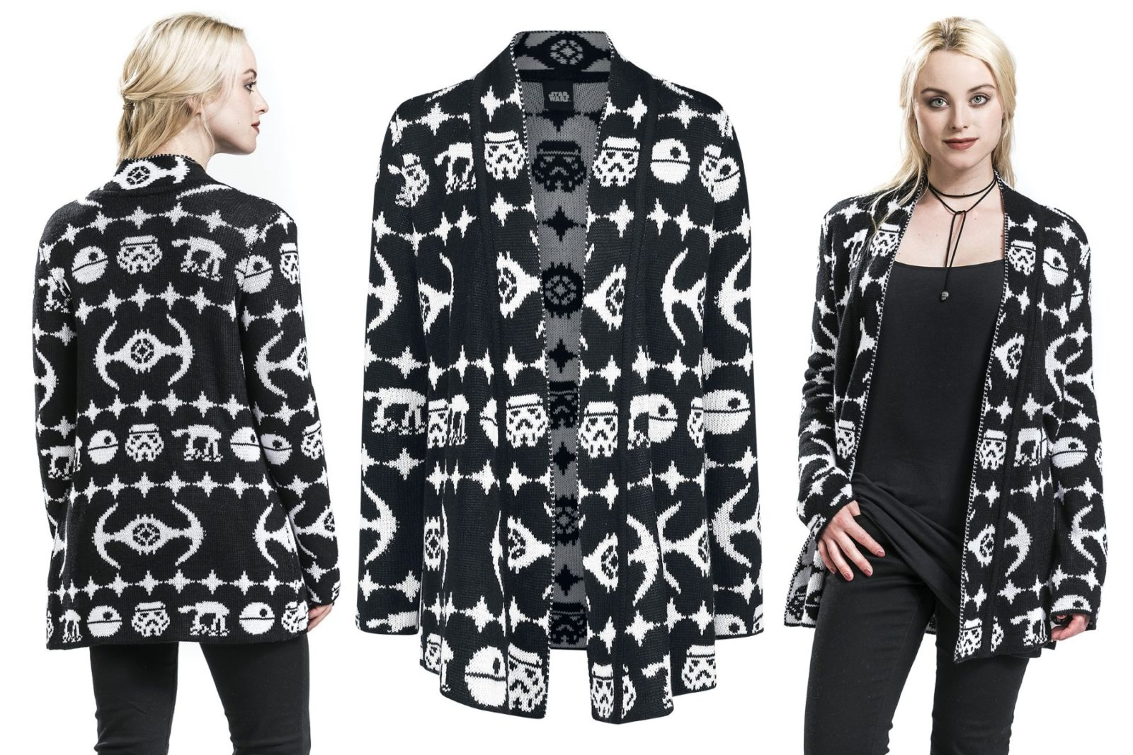 Women's TIE Fighter Cardigan at EMP Online