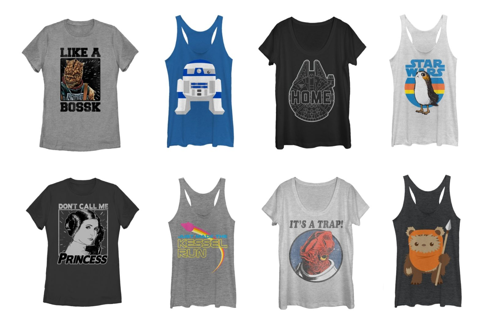 20% Off Women's Fifth Sun x Star Wars Apparel