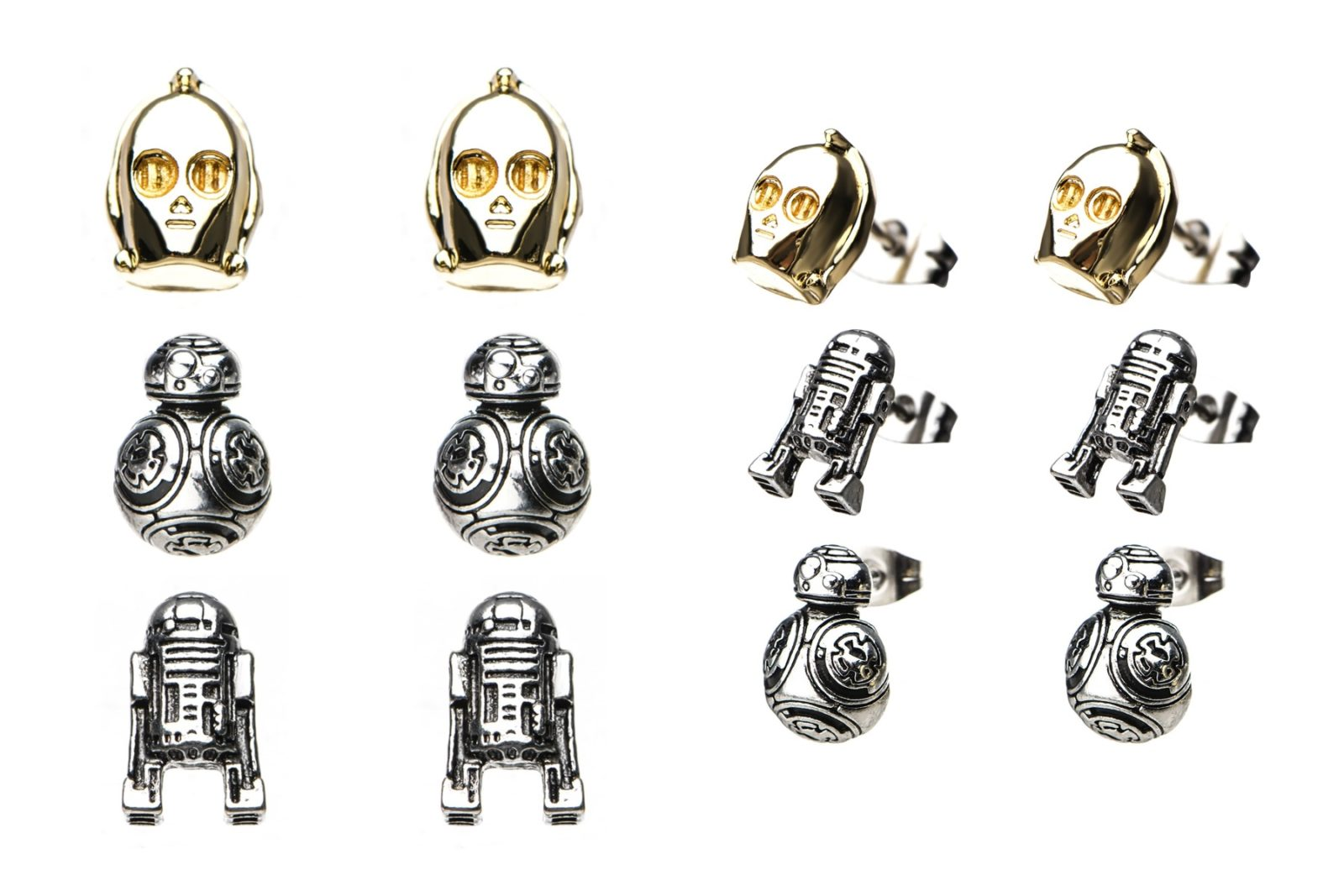 Star Wars Droid Stud Earring Set at Fun