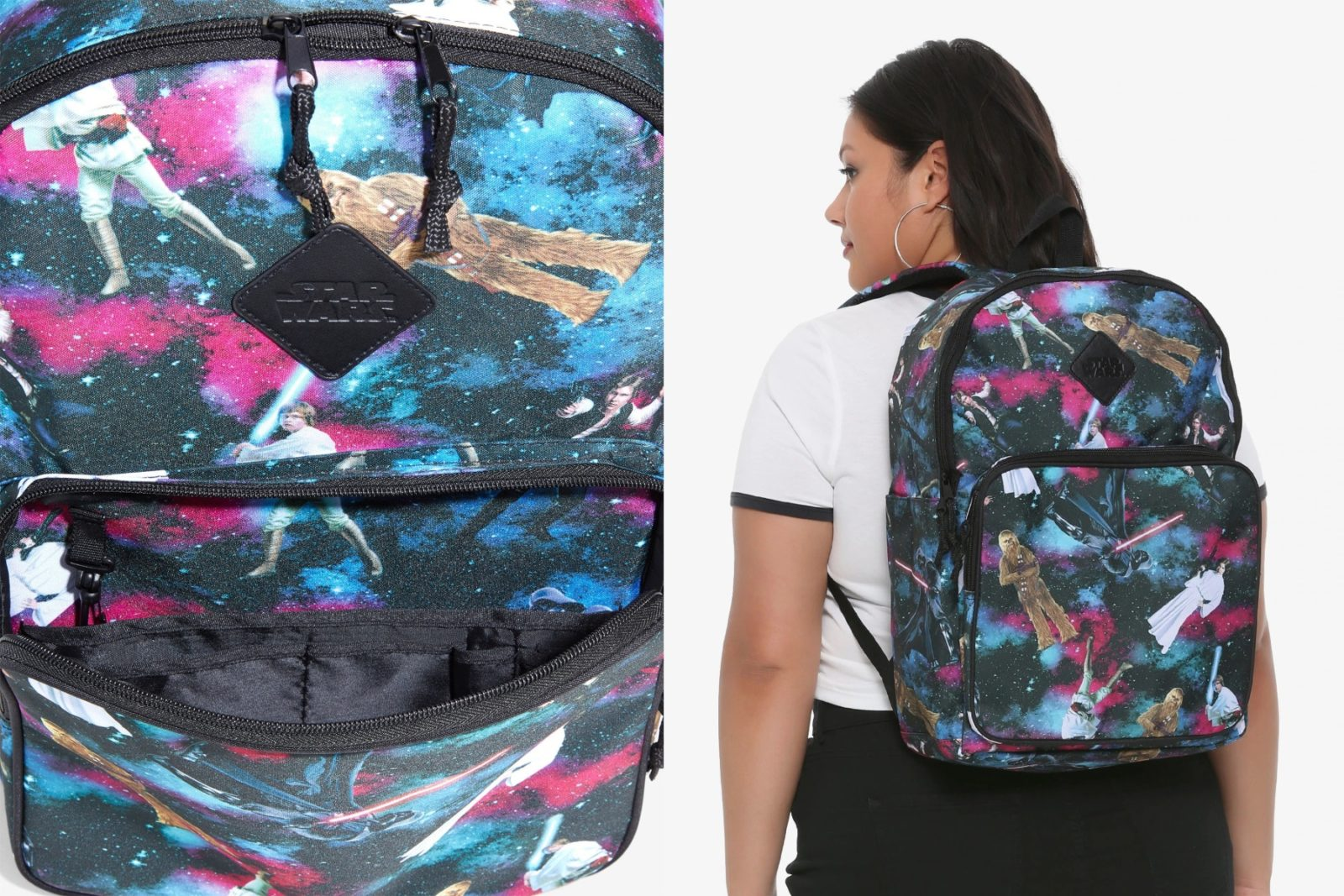 Star Wars Character Galaxy Backpack On Sale