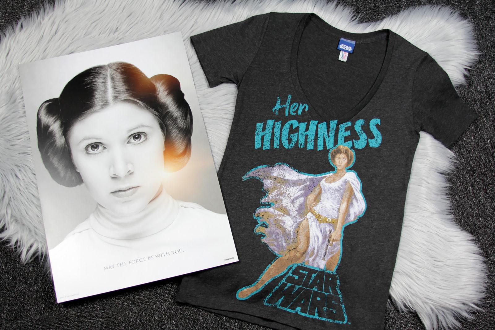Women's Star Wars Princess Leia Your Highness T-Shirt