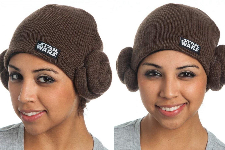 Women's Princess Leia Knit Beanie on Amazon