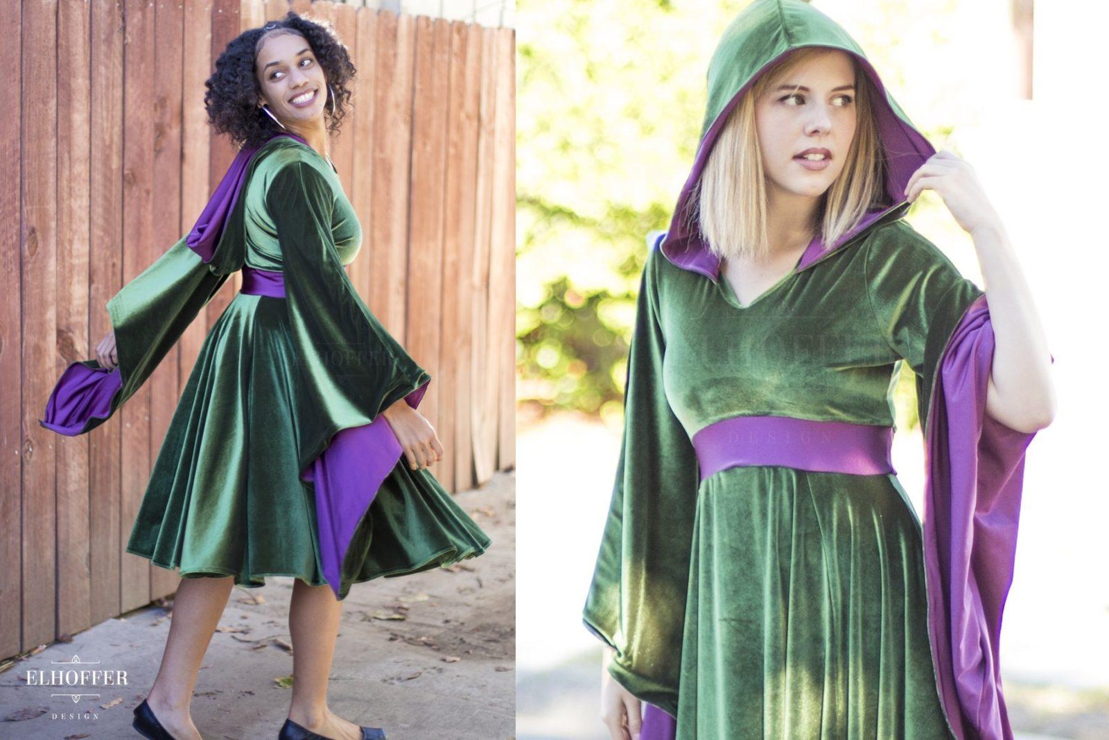 Star Wars Padme Amidala Velvet Dress by Elhoffer Design