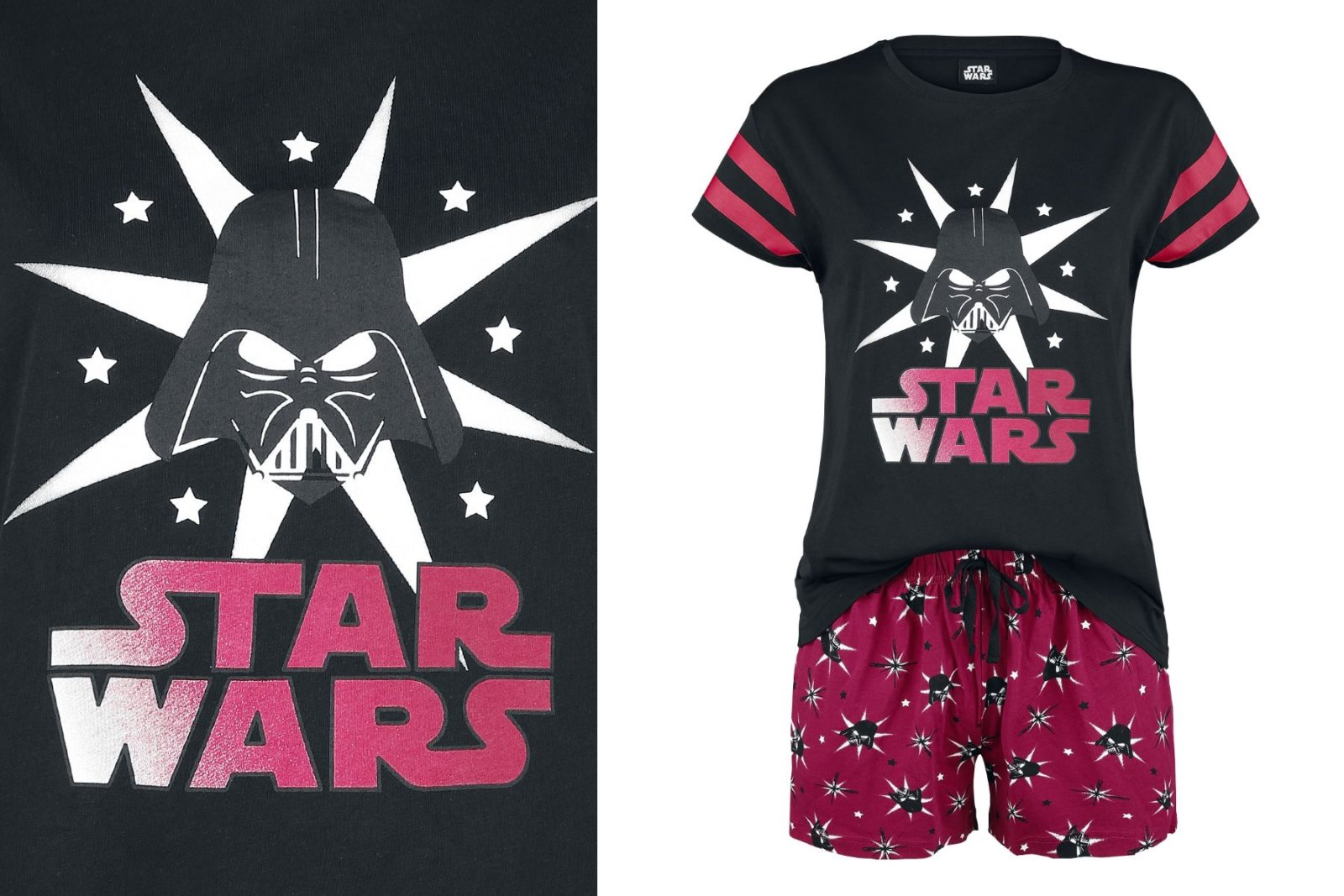 Women's Star Wars Darth Vader Sleepwear Set