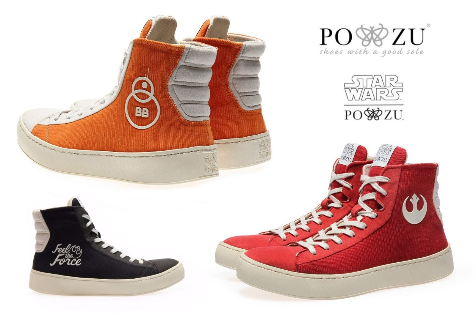 Po-Zu Footwear - 25% off Selected Star Wars Sneaker Styles
