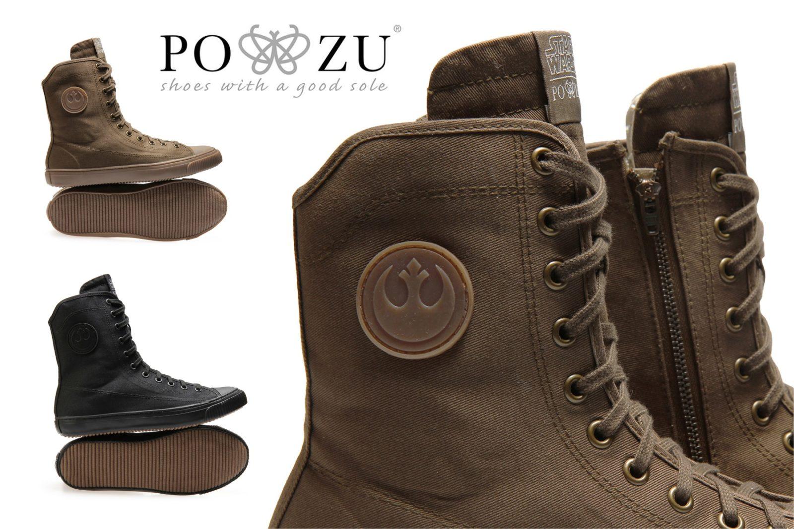 New Po-Zu x Star Wars Rebel Combat Sneakers