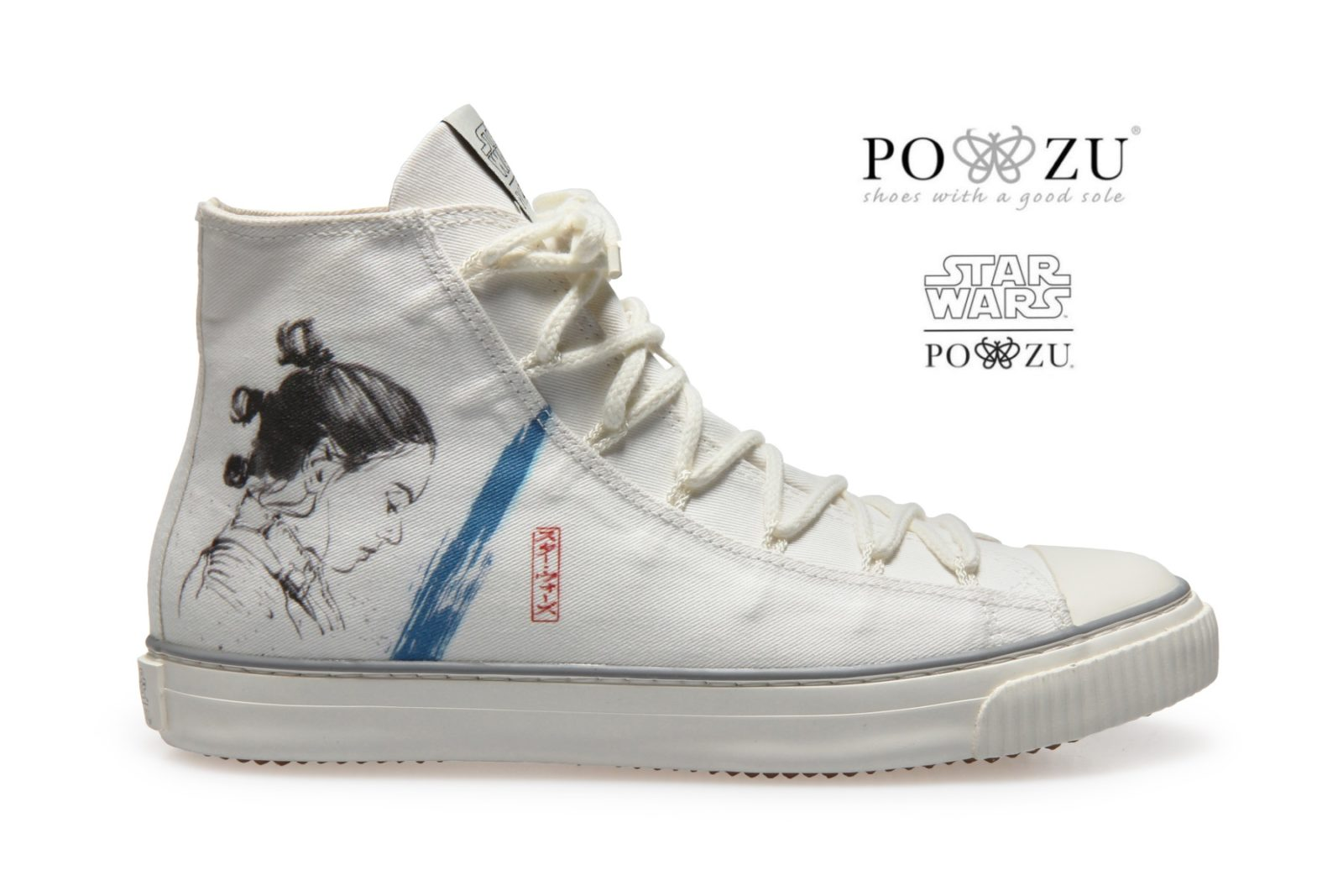New Po-Zu x Star Wars Rey Sneakers!