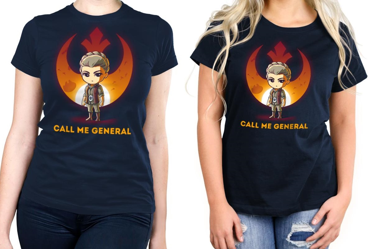 Women's General Leia T-Shirt at TeeTurtle