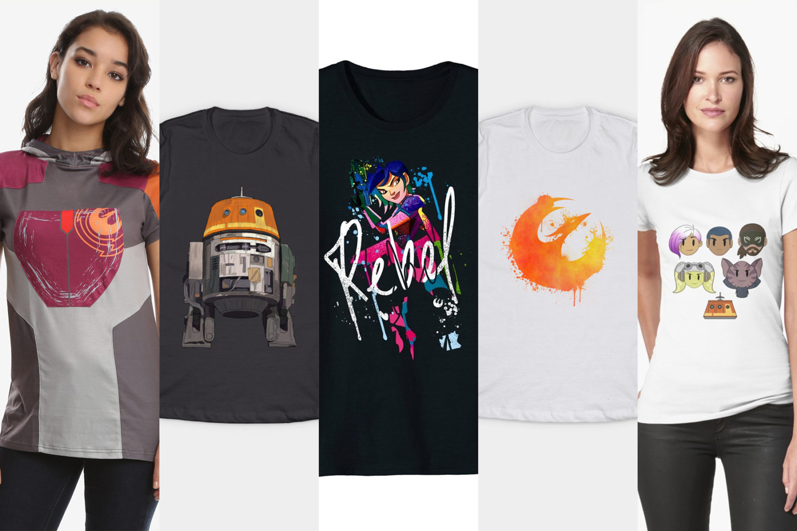Leia's List – Women's Rebels Themed T-Shirts