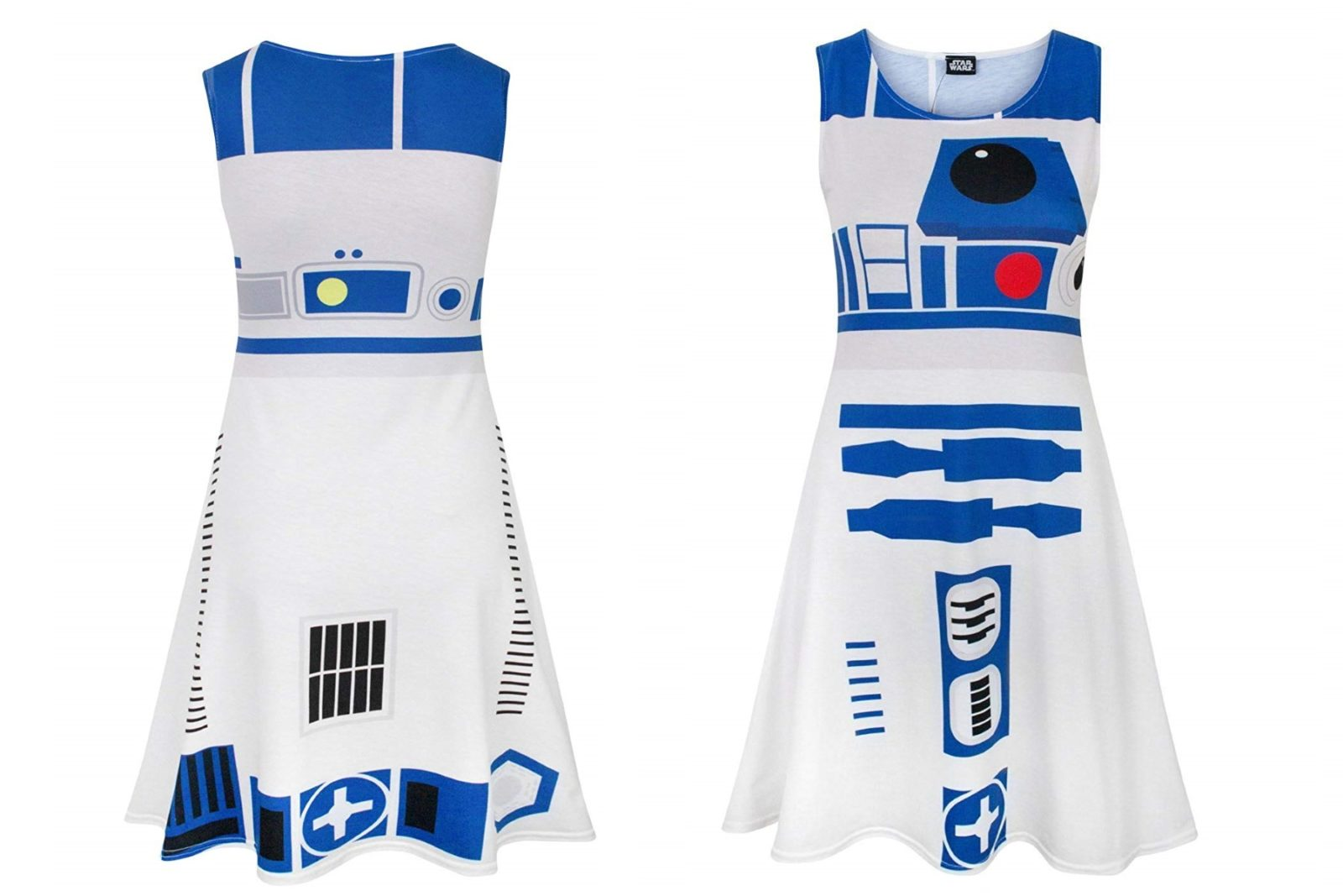 Women's R2-D2 Cosplay Style Dress on Amazon