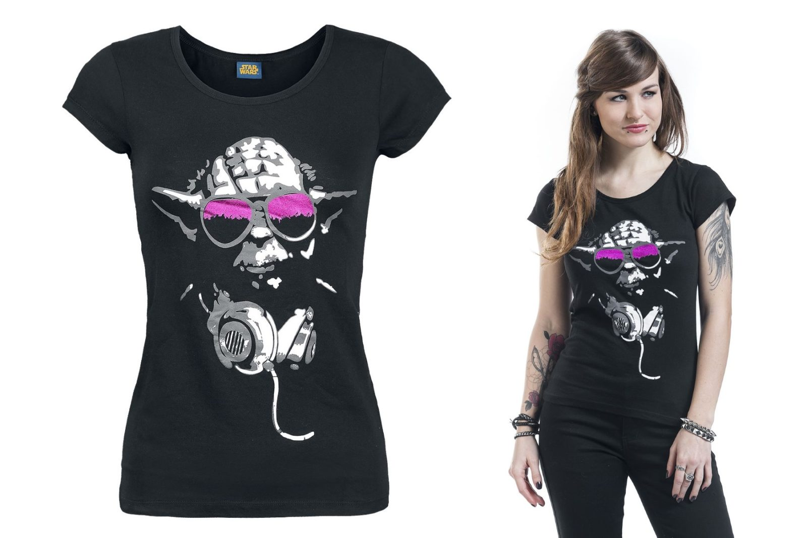 Women's Star Wars Cool Yoda T-Shirt at EMP