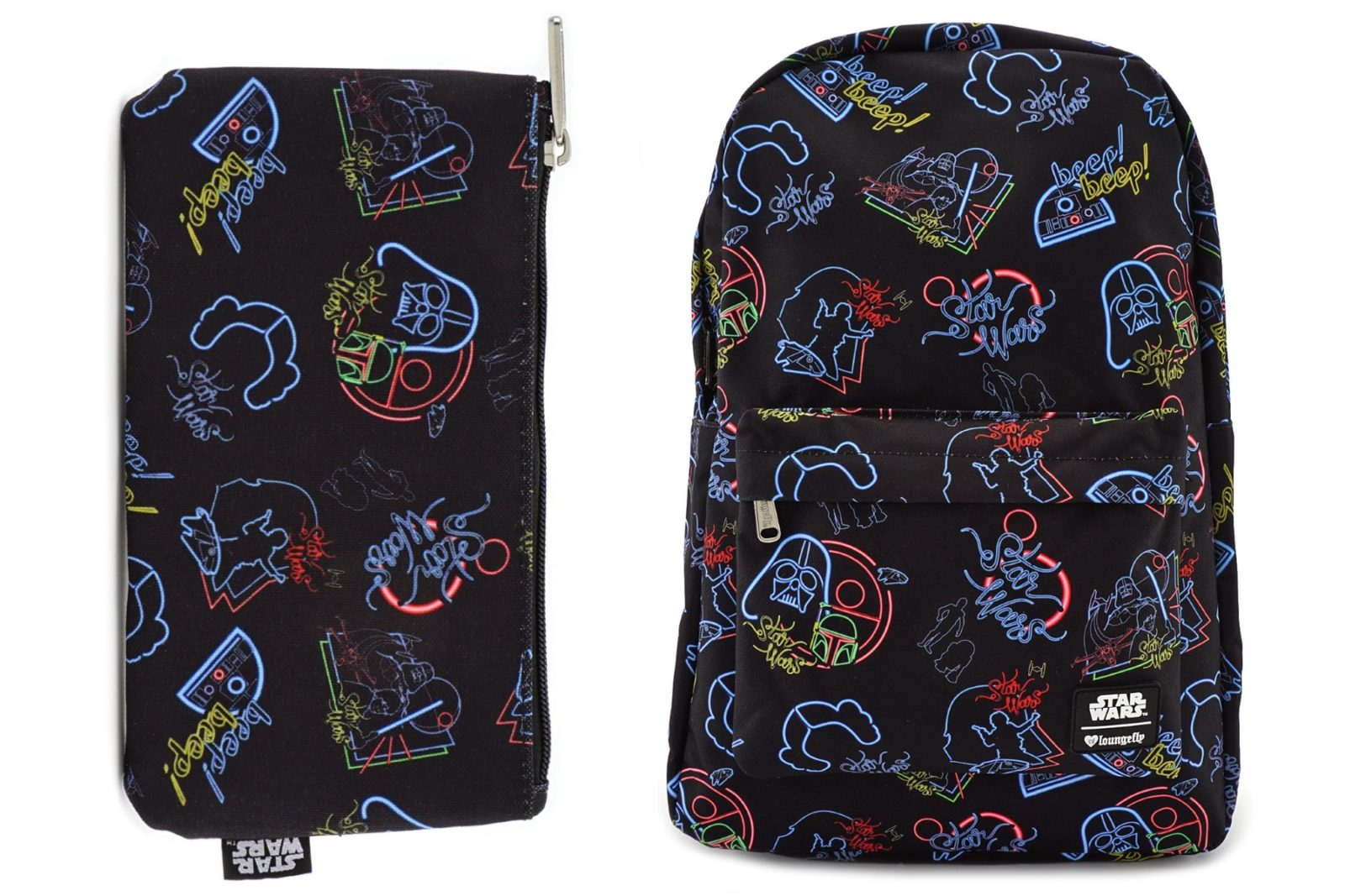 Loungefly x Star Wars Neon Print Backpack