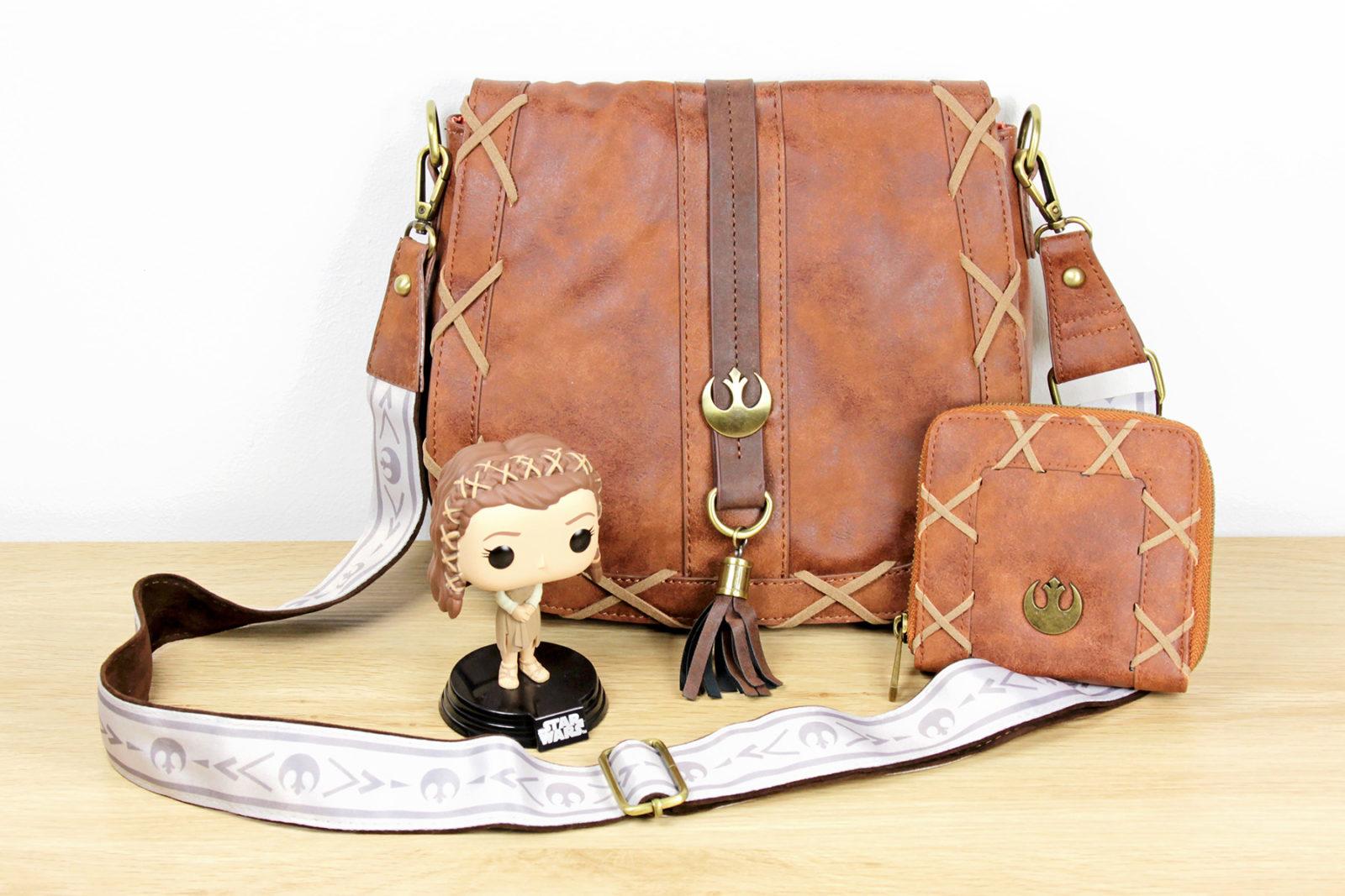 Heroes & Villians x Star Wars Princess Leia Bag and Wallet