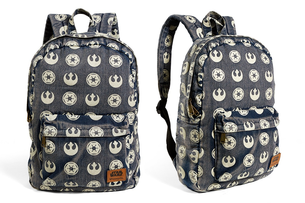 Loungefly Rebel Imperial Logo Backpack