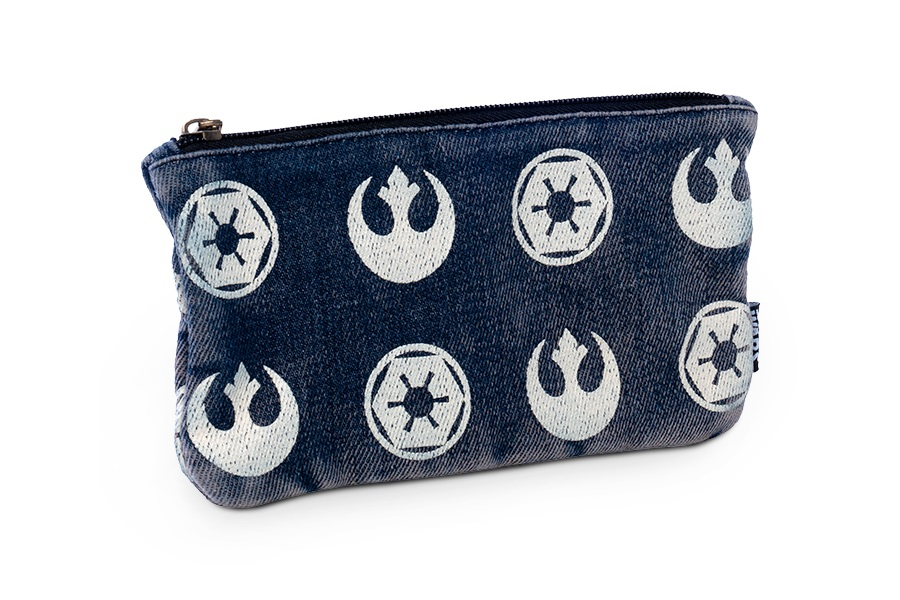 Star Wars Rebel Imperial Logo Pouch at ThinkGeek