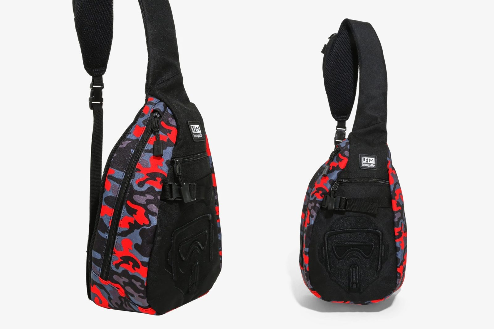 Loungefly Trooper Camo Sling Backpack