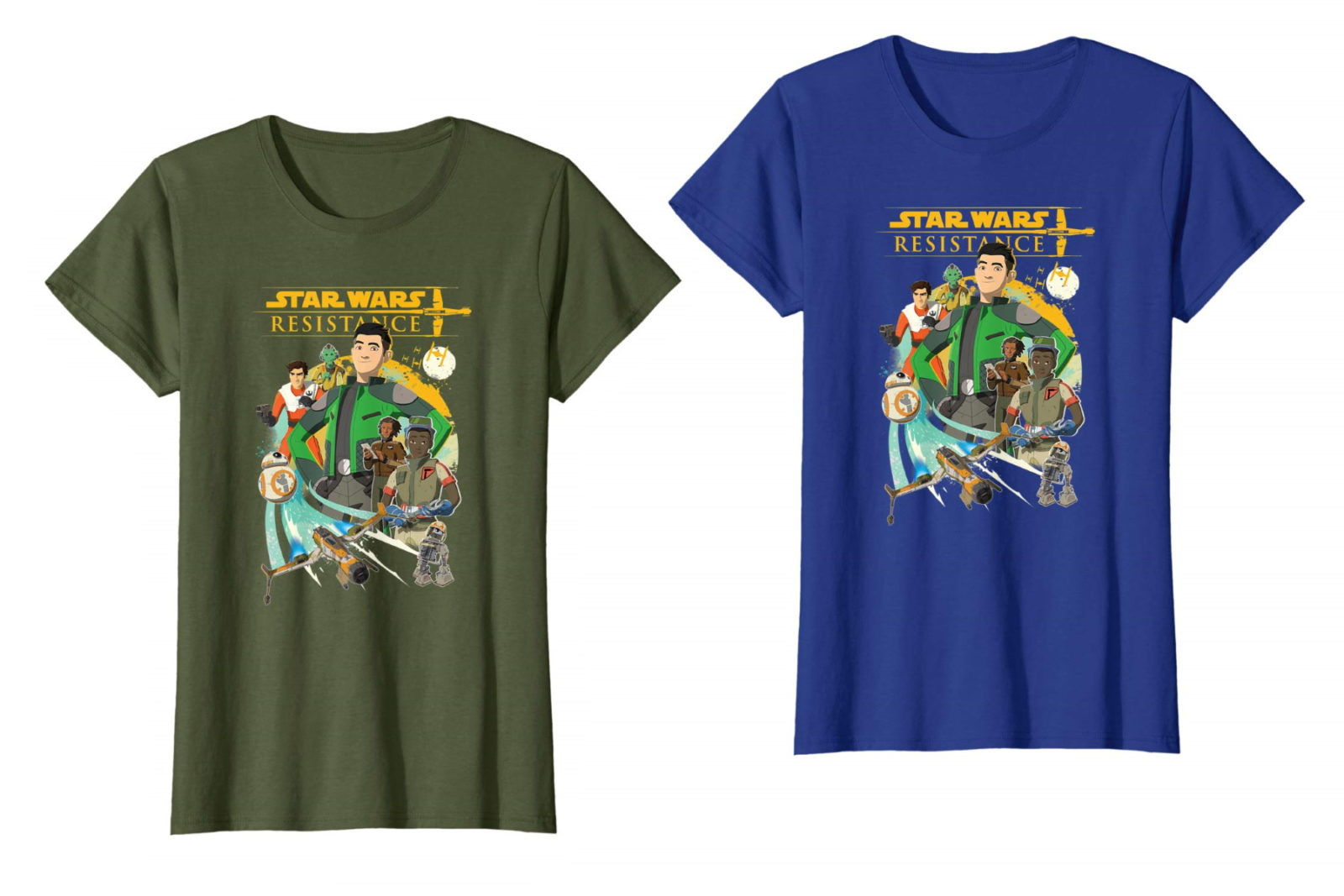 Women's Star Wars Resistance T-Shirt on Amazon