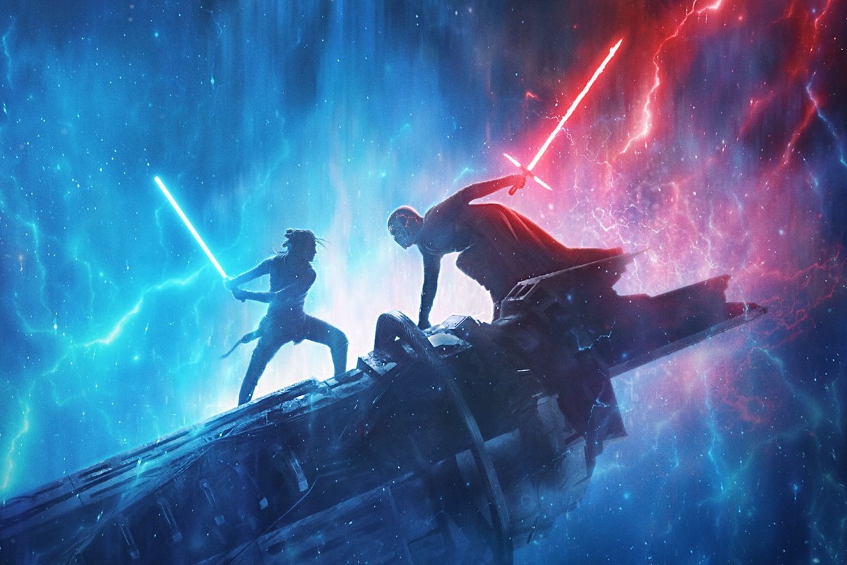 The Rise Of Skywalker Clips from D23 Expo